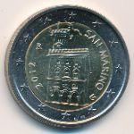 Сан-Марино, 2 евро (2012 г.)