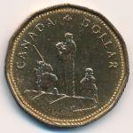 Канада, 1 доллар (1995 г.)