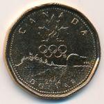 Канада, 1 доллар (2004 г.)