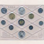 Италия, Набор монет (1990 г.)