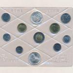 Италия, Набор монет (1991 г.)