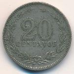 Аргентина, 20 сентаво (1929 г.)