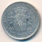 Испания, 1 песета (1900 г.)