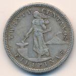 Филиппины, 20 сентаво (1904 г.)