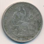 Перу, 1/2 соля (1924–1929 г.)