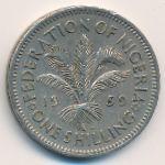 Нигерия, 1 шиллинг (1959 г.)