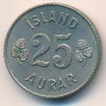 Исландия, 25 эйре (1957 г.)