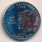 США, 1/4 доллара (2000 г.)