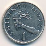 Танзания, 1 шиллинг (1987–1990 г.)