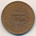 ЮАР, 1 пенни (1958 г.)