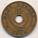 Восточная Африка, 10 центов (1942–1945 г.)