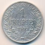 Немецкая Африка, 1 рупия (1907 г.)