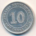 Стрейтс-Сетлментс, 10 центов (1927 г.)