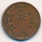 Цейлон, 1/2 цента (1906 г.)