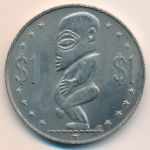 Острова Кука, 1 доллар (1972 г.)