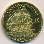 Маршалловы острова, 10 долларов (1998 г.)