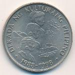 Филиппины, 1 песо (1989 г.)