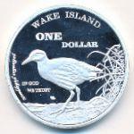 Остров Уэйк, 1 доллар (2015 г.)