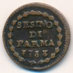 Парма, 1 сесимо (1788 г.)
