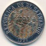 Сальвадор, 5 колон (1997 г.)