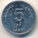 Мальдивы, 5 лаари (2012 г.)