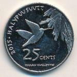 Индейская резервация Хамул, 25 центов (2015 г.)