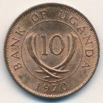 Уганда, 10 центов (1970 г.)