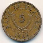 Уганда, 5 центов (1966 г.)