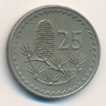 Кипр, 25 мил (1963 г.)