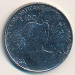 Ватикан, 100 лир (1966 г.)