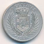 Свободный штат Конго, 50 сентим (1887 г.)