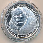 Конго, 5000 франков КФА (2018 г.)