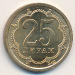 Таджикистан, 25 дирам (2006 г.)