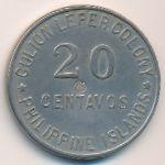 Остров Кулион, 20 сентаво (1922 г.)