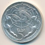 Сан-Марино, 5 евро (2007 г.)