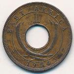 Восточная Африка, 1 цент (1954–1962 г.)