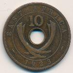 Восточная Африка, 10 центов (1923 г.)