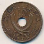 Восточная Африка, 10 центов (1928 г.)