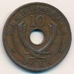 Восточная Африка, 10 центов (1933 г.)