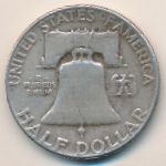 США, 1/2 доллара (1952–1963 г.)