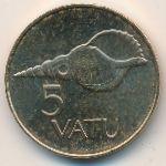 Вануату, 5 вату (1983–2009 г.)