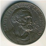 Vatican City, 10 centesimi, 1929–1938