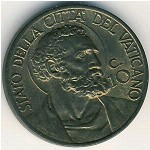 Vatican City, 10 centesimi, 1939–1941