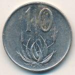 ЮАР, 10 центов (1975 г.)