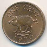 Бермудские острова, 1 цент (1970 г.)