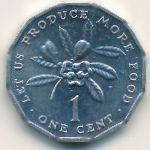 Ямайка, 1 цент (1975 г.)