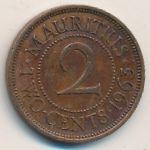 Маврикий, 2 цента (1963 г.)