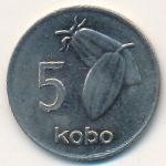 Нигерия, 5 кобо (1989 г.)