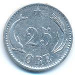 Дания, 25 эре (1874 г.)