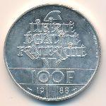Франция, 100 франков (1988 г.)